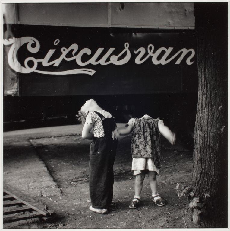 Circus Van Bever, 1954-1955 Foto Eddy Posthuma de Boer Beeld Eddy Posthuma de Boer