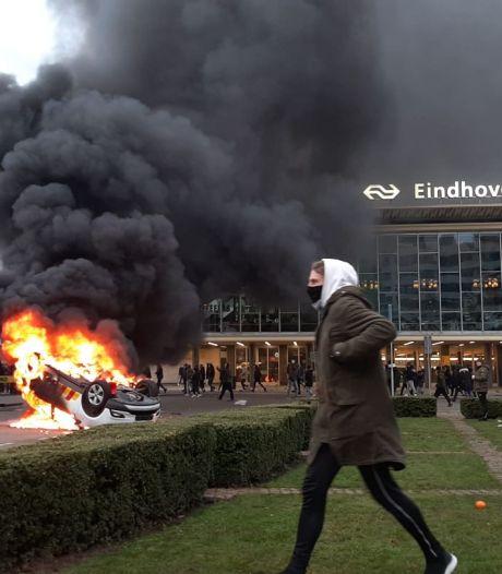 Rust teruggekeerd in Eindhoven: veel vernielingen in de binnenstad, politie houdt oogje in zeil