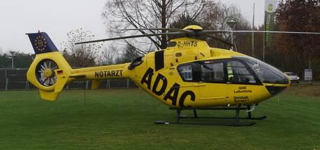 Traumahelikopter opgeroepen in Haaksbergen