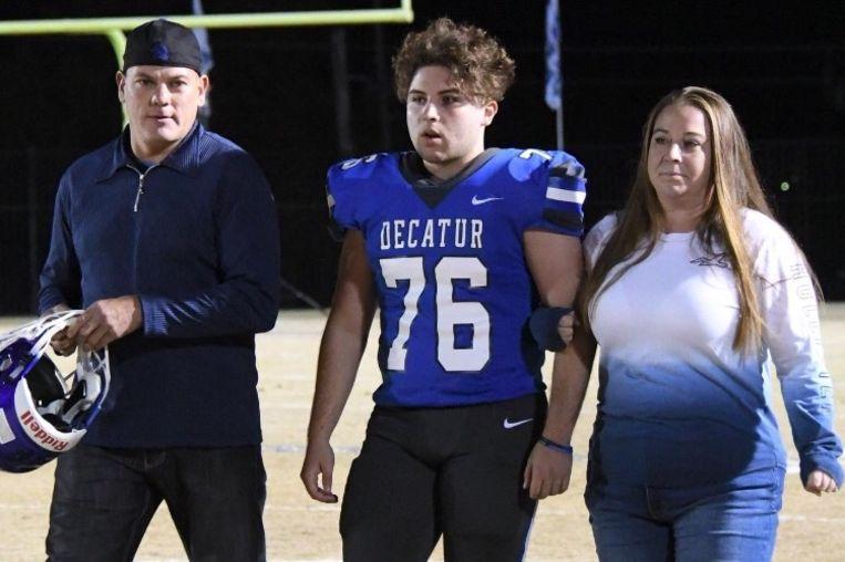 Slachtoffer Felipe, zijn vrouw en hun zoon.