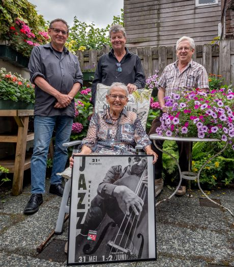 Muzikant Piet Hest (1927-2016) speelde met half Bergen