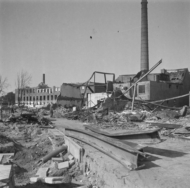 De resten van de oude Storkfabriek in Hengelo. Beeld Nationaal Archief/Fotocollectie Anefo