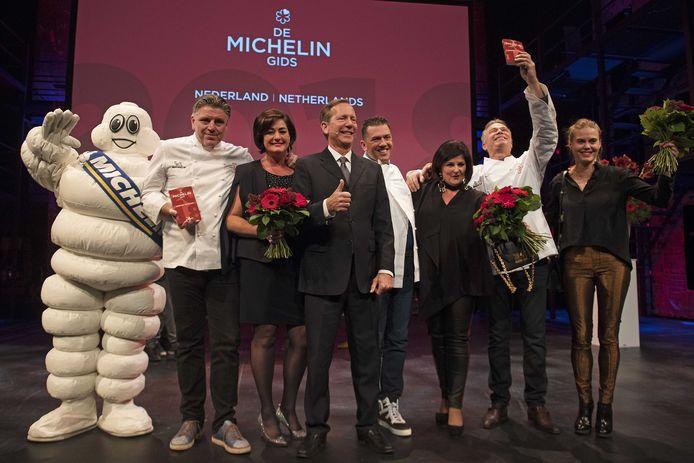 Jannis en Claudia Brevet van Restaurant Inter Scaldes hebben een derde ster in de Michelingids gekregen.