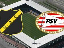 NAC en PSV spelen eerste Brabantse derby van het seizoen