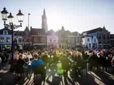 Terrassen in de binnenstad van Amersfoort bij mooi weer langer open