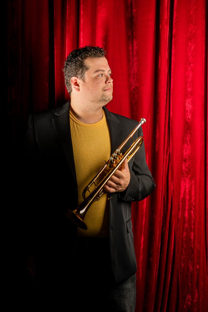 Trompettist Stefan Danckaert uit Den Bosch