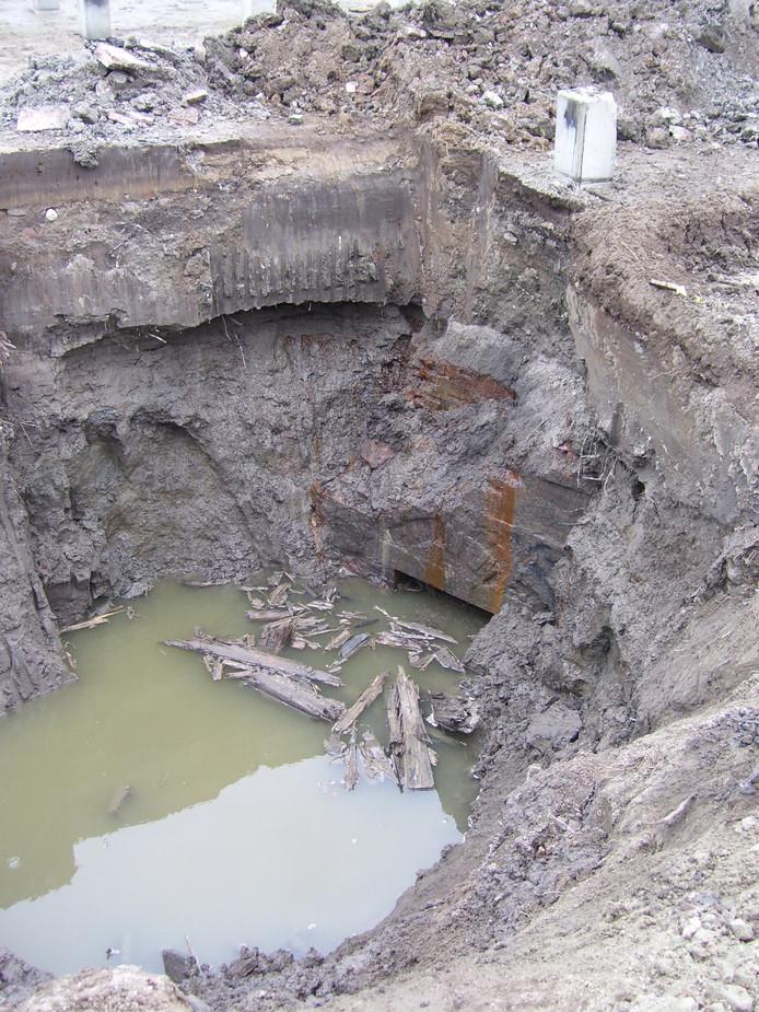 resten van het oude kasteel?