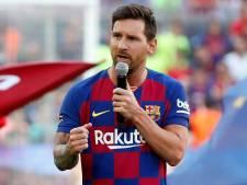 Messi nog niet klaar voor openingsduel