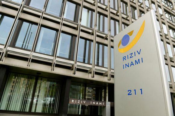 Zetel van Riziv in Brussel.