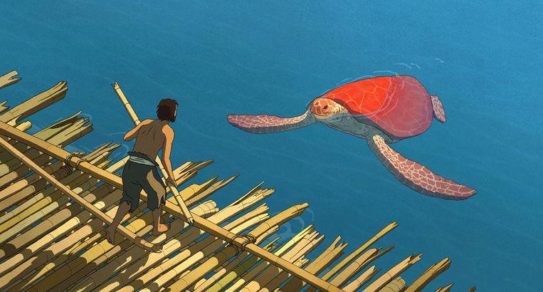 Beeld uit The Red Turtle Beeld null