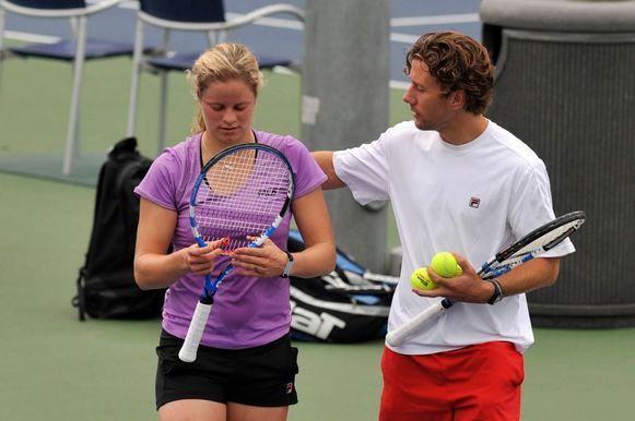 Wim Fisette hier met Kim Clijsters in 2009.