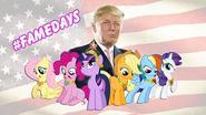 Belgische hacker slaat weer toe: Trump tweet nu over 'My little pony'