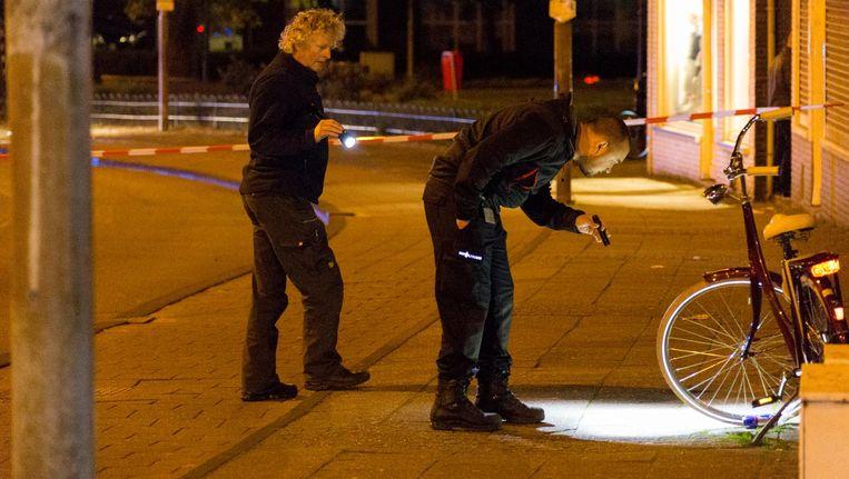 De politie doet onderzoek na de steekpartij Beeld anp