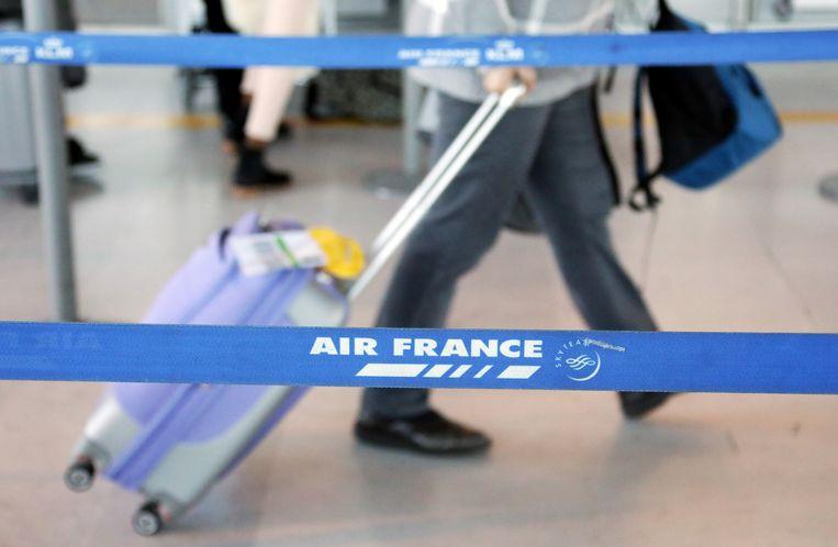 Air France-KLM vliegt al sinds 6 februari niet meer op China. Beeld REUTERS