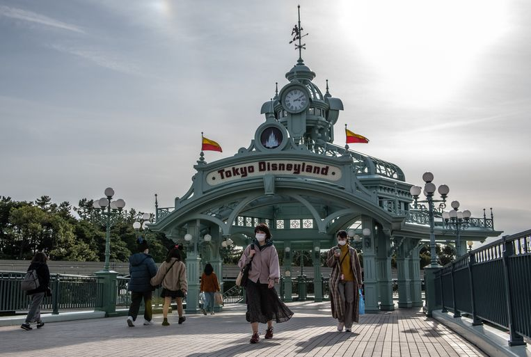 Tokyo Disneyland. Beeld Getty Images