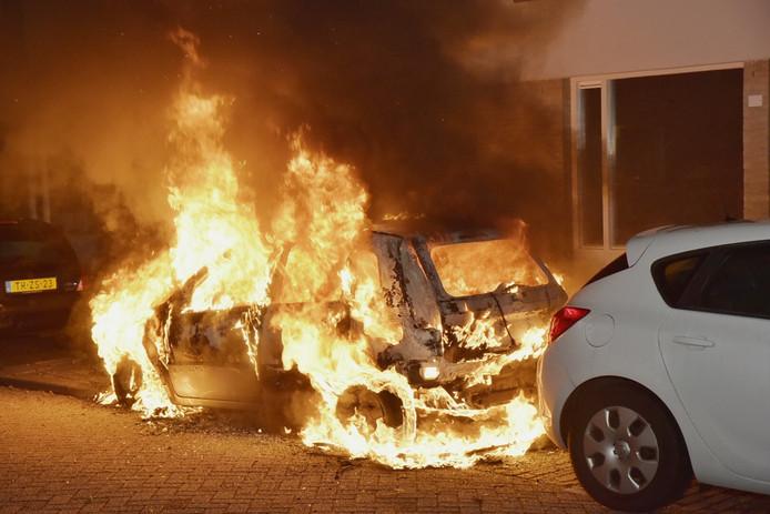 De brand in de Sevenhoekstraat.