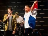 Kjeld Nuis viert feest in Holland Heineken House
