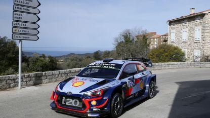 """Neuville finisht op derde plaats in Corsica, zege is voor Ogier: """"We waren niet altijd bij de les"""""""