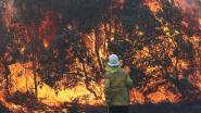 Honderden mensen op de vlucht voor bosbranden in Australië