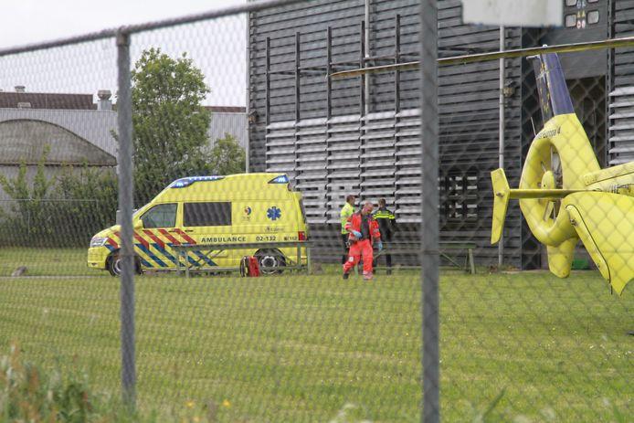 Bij een bedrijfsongeluk aan de Hidalgoweg in Leeuwarden zijn op 17 mei 2018 twee personen om het leven gekomen. Het ongeluk gebeurde in een machinefabriek.