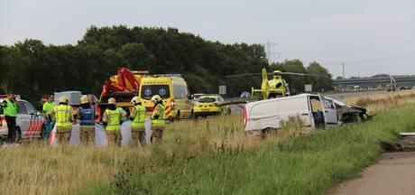 Dode bij eenzijdig ongeval op A58