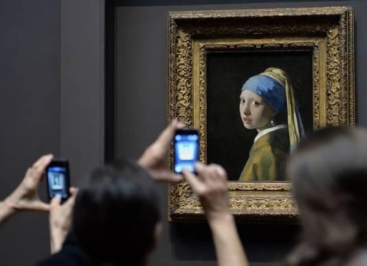Meisje met de parel, van Johannes Vermeer.