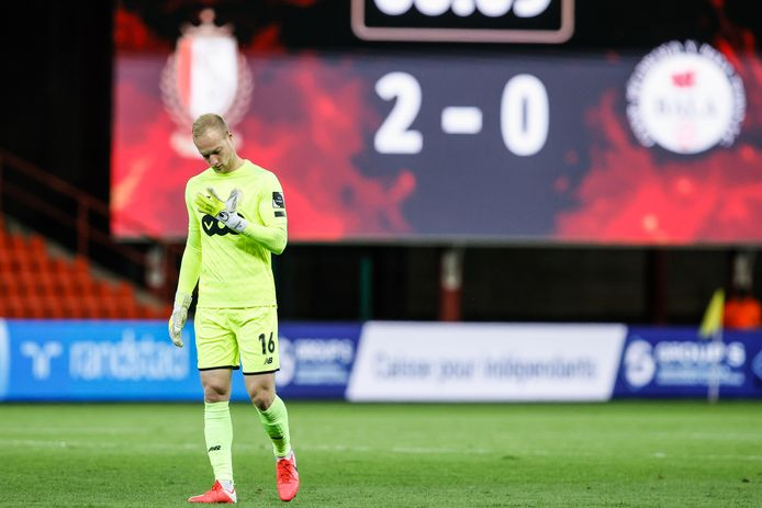 Comme souvent depuis le début de saison, Arnaud Bodart a été irréprochable entre les perches du Standard.