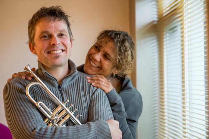 Ido Jan Stalman en zijn vrouw Anne Knappstein.