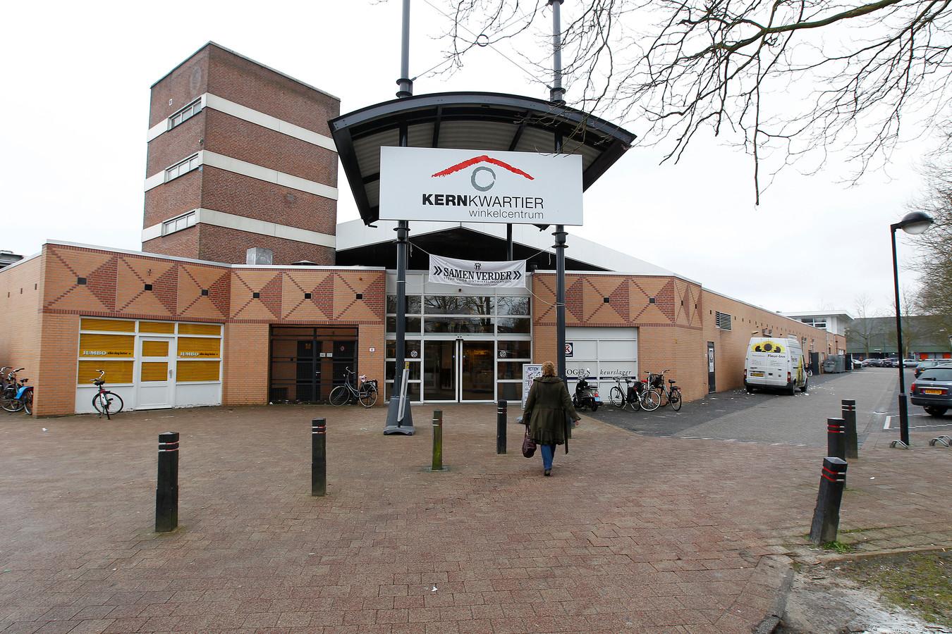 Winkelcentrum Kernkwartier in het zuiden van Nuenen