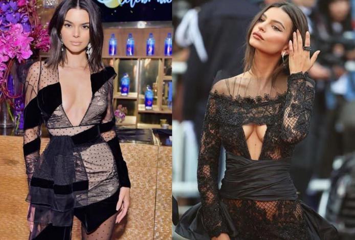 Kylie Jenner et Emily Ratajkowski