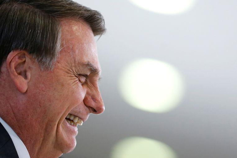 De extreemrechtse Braziliaanse president Jair Bolsonaro.