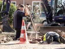 Hovenier veroorzaakt gaslek in Baarn