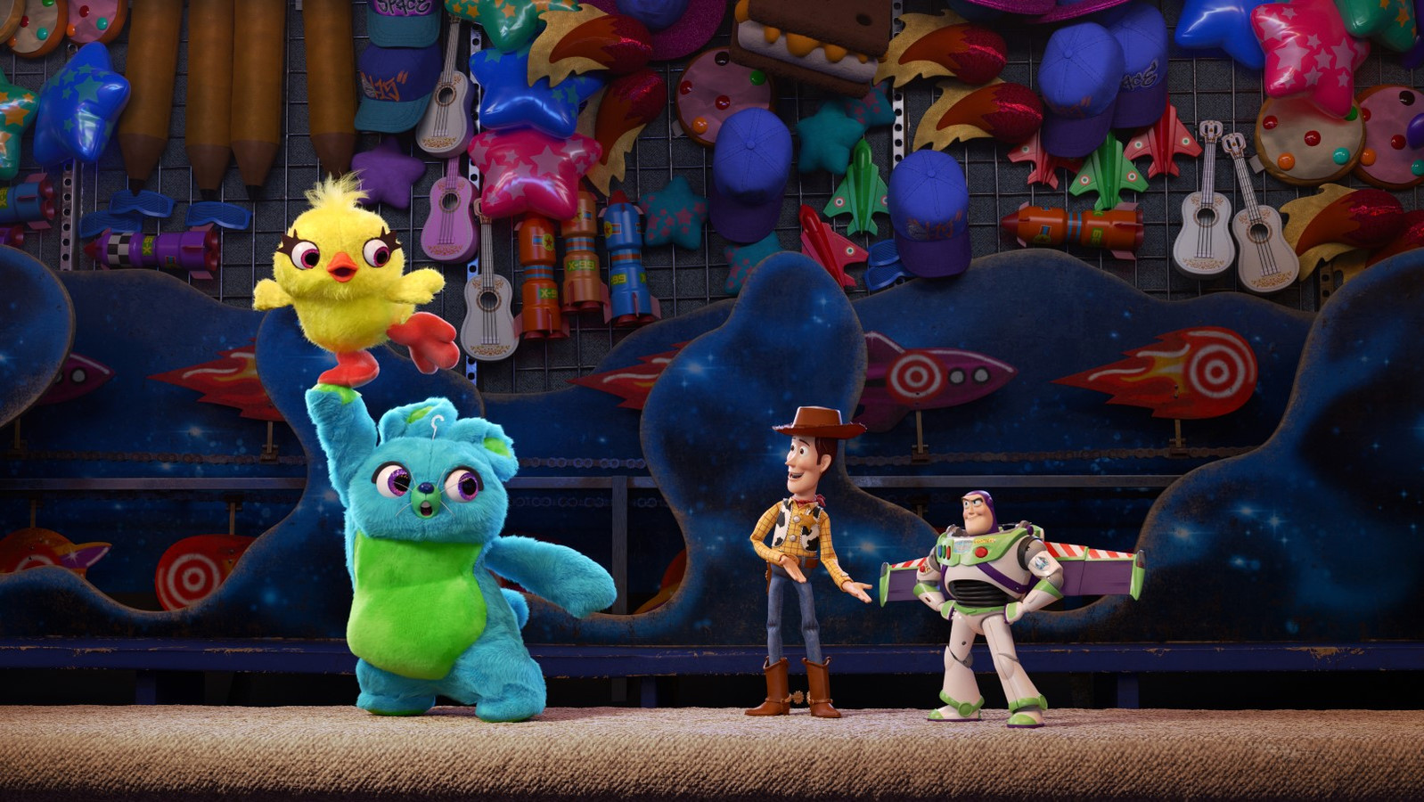 "Image issue du film ""Toy Story 4""."