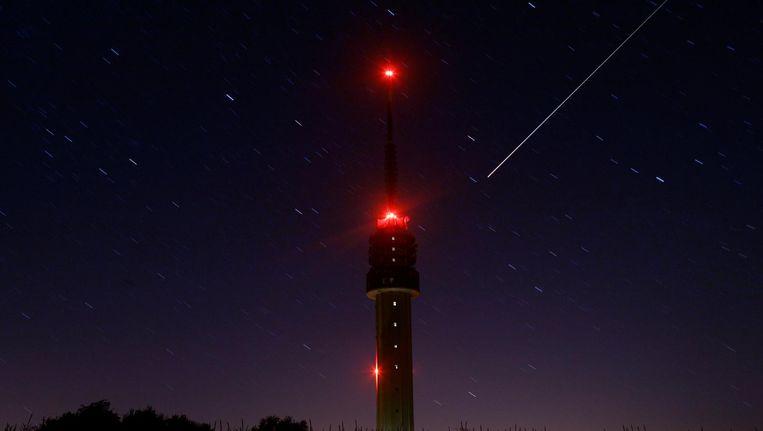 Op vrijdagochtend zijn er, onder ideale omstandigheden, tot zo'n 130 meteoren per uur te zien. Beeld anp