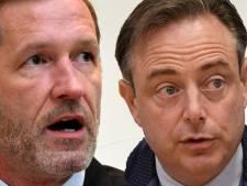 Une rencontre entre Bart De Wever et Paul Magnette samedi soir à Anvers<br>