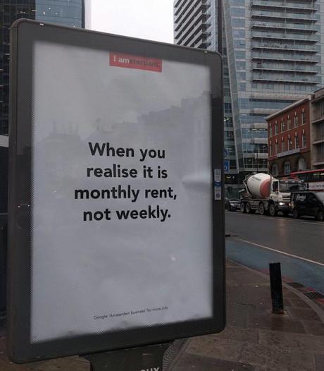 Burgemeester noemt posters in Londen 'ongelukkig gekozen'