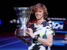 Andrey Rublev 8e mondial après son titre à Saint-Pétersbourg, Goffin toujours 14e