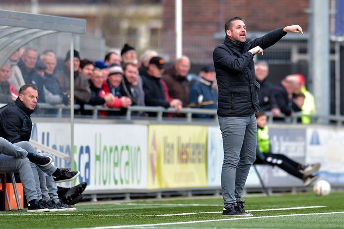 Gert Jan Karsten is tot en met de zomer van 2022 de trainer van SV Urk.