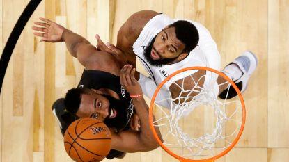 Cleveland verliest van San Antonio, Harden bezorgt Rockets twaalfde zege op rij