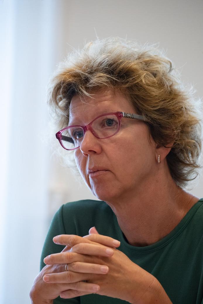 Irma van der Sloot (GL) is een nieuwe wethouder in de gemeente Kampen