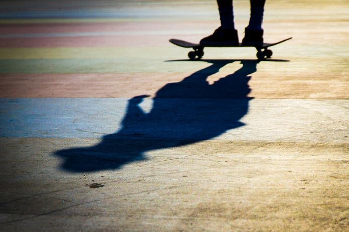 Dag 91: op het skateboard in de zon.