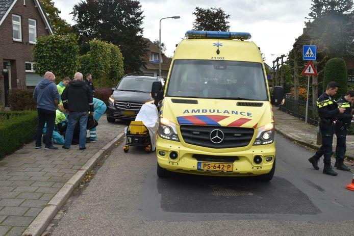 Scooterrijdster gewond Ammerzoden.