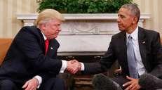 fotoreeks over Een nieuwe president, een nieuw Oval Office