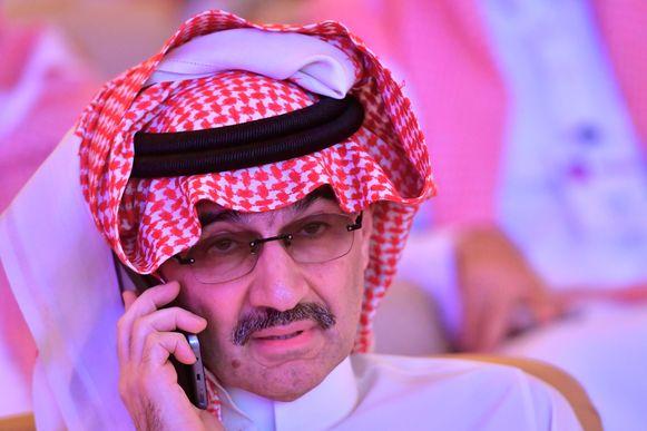 De Saudische prins en miljonair Al Waleed bin Talal.