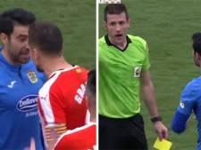 Un joueur exclu deux fois en l'espace de deux minutes: scène étonnante en Espagne