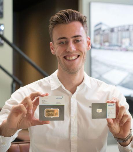 Eimke (23) uit Putten benut gouden kans en verhandelt nu goudbaren