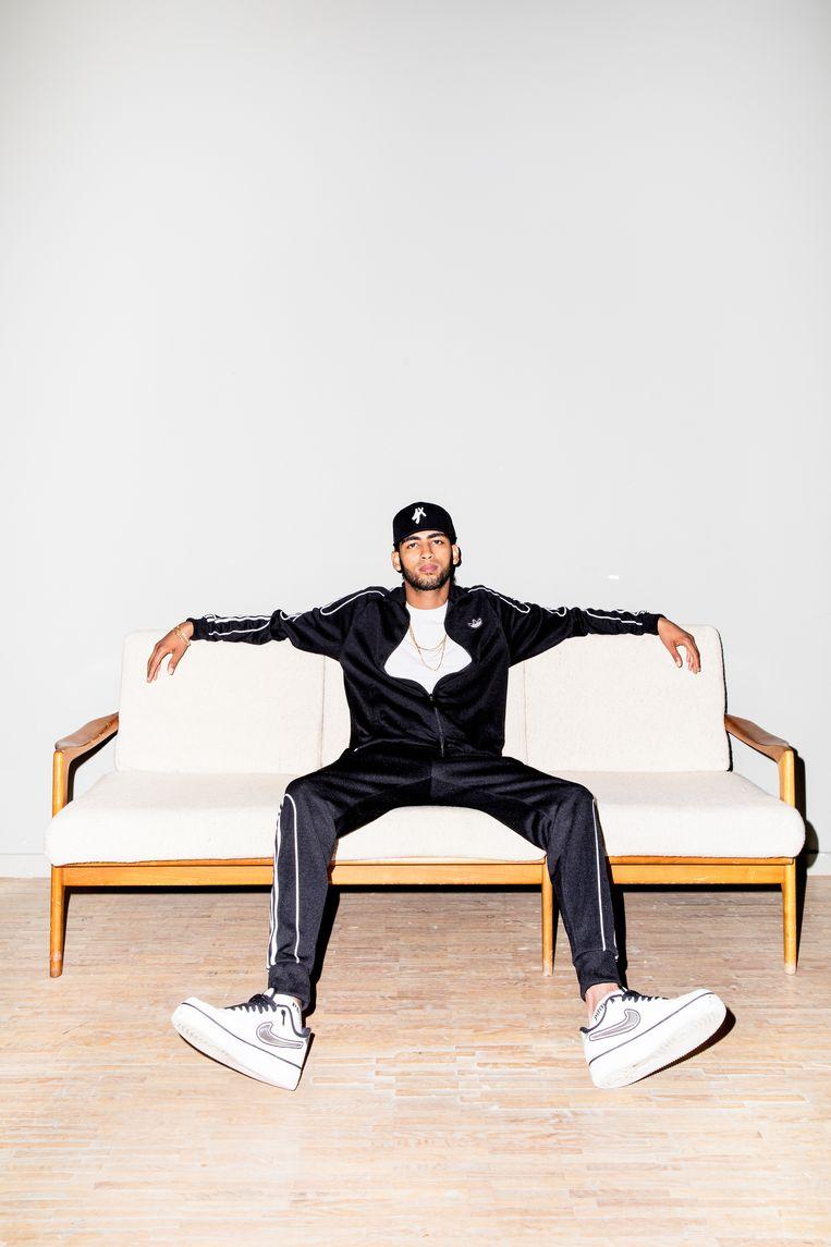 Voor Mani is hiphop 'het mooiste' dat hem 'had kunnen overkomen'. Beeld Marie Wanders