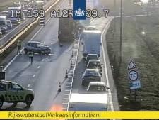 A12 weer vrij na eerder ongeval tussen Duiven  en Zevenaar