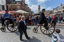 HENGELO - 20170506 - 150 jaar terug in de tijd tijdens Reuring in de stad Hengelo.