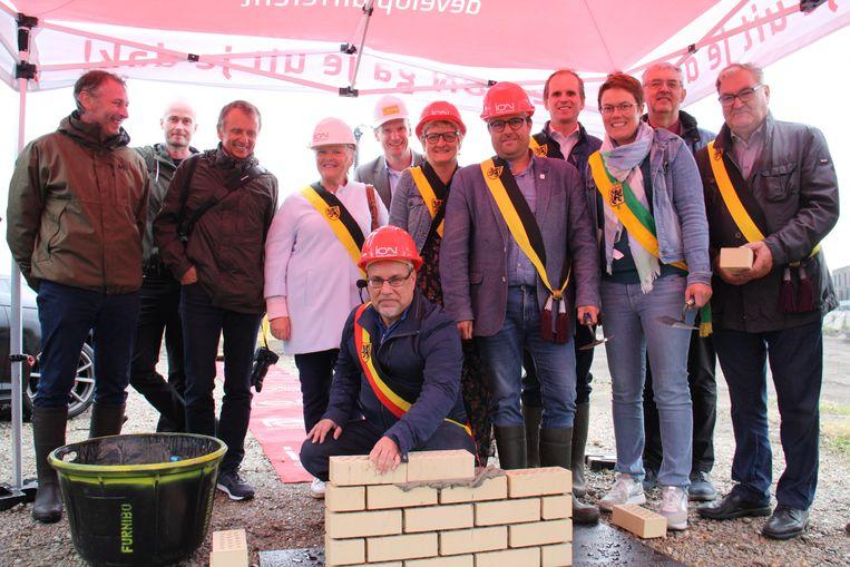 Burgemeester Peter Roose is trots dat Veurne de eerste stad in de Westhoek is, die kiest voor een warmtenet in de geplande woonwijk.
